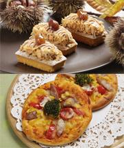 【洋菓子】キャレマロン【製パン】ピッツァ