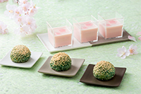 【高校1,2年生対象】 特別講習会 和菓子 ~桜とよもぎが香る春色和菓子~