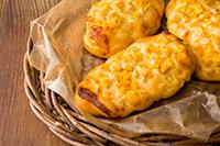 編みコーンパン