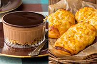 【洋菓子】 ミロワールショコラ 【製パン】編みコーンパン