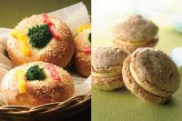 【製パン】彩り焼きカレー 【洋菓子】ダコワーズ ノワゼット オランジュ