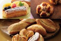 【製パン】クルミパン、フルーツデニッシュ、フランスパン・ベーコンエピ 各種