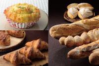 【製パン】オニオンベーコンパン、パンドカンパーニュ、クロワッサン