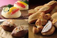 【製パン】夏野菜のフォカッチャ、チョコパン、フランスパン・ベーコンエピ 各種