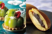【洋菓子】季節のフルーツのタルトレット 【和菓子】バターどら焼き