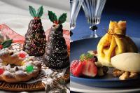 【製パン】クリスマスツリー クリスマスリース 【洋菓子】季節のフルーツとバニラアイスを添えたクレープ包み