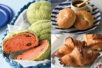 【製パン】スイカパン、クロワッサン、ベーグル