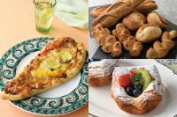 【製パン】夏野菜カレーナン、フランスパン各種、デニッシュフリュイ