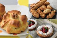 【製パン】クルミパン、フランスパン各種、メランジェ