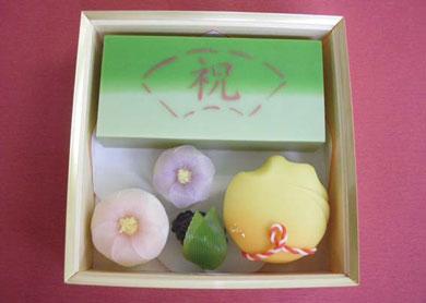 引菓子 (卒業祝い、花束、祝い酒)