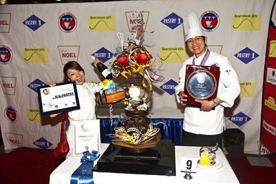 製菓技術学科 第39期卒業生 木津 慶和さんが 全米ペイストリーコンペティション優勝!