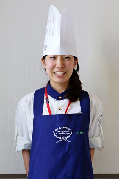 第7回軽井沢スイーツ博コンクール2014 製菓技術学科 2学年 洋菓子科 中西 志帆さんが見事第2位となりました!