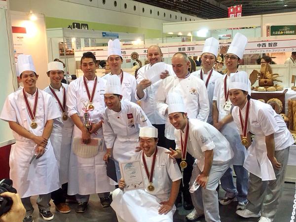パンの世界大会モンディアル・デュ・パン日本代表選考会 製パン技術学科1期卒業生 樋口 達也 さんが第3位!