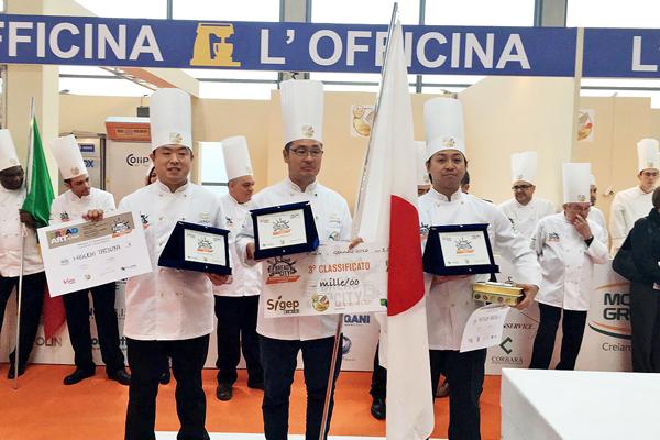 製パン技術学科1期卒業生の樋口 達也さんが パンの世界大会で第3位となりました!