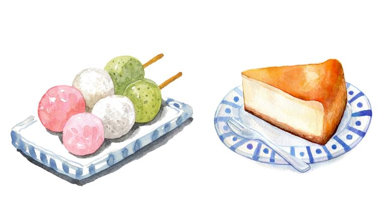 洋菓子と和菓子のちがいってナニ?