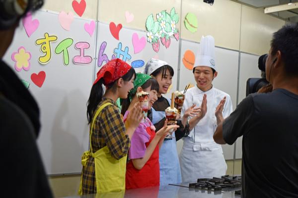 洋菓子担当 酒井教師が出演したNHK Eテレ「すイエんサー」のアンコール放送が決定!!